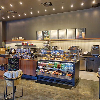 Starbucks Counter Cooler