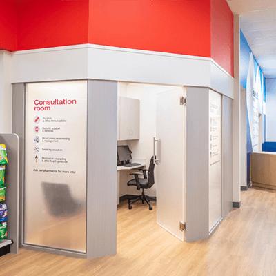 CVS Health Hub Consultation Room