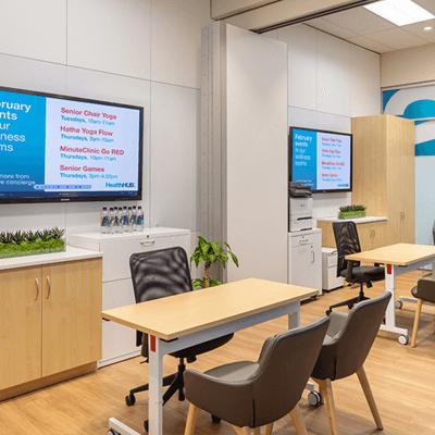 CVS Health Hub Wellness Room