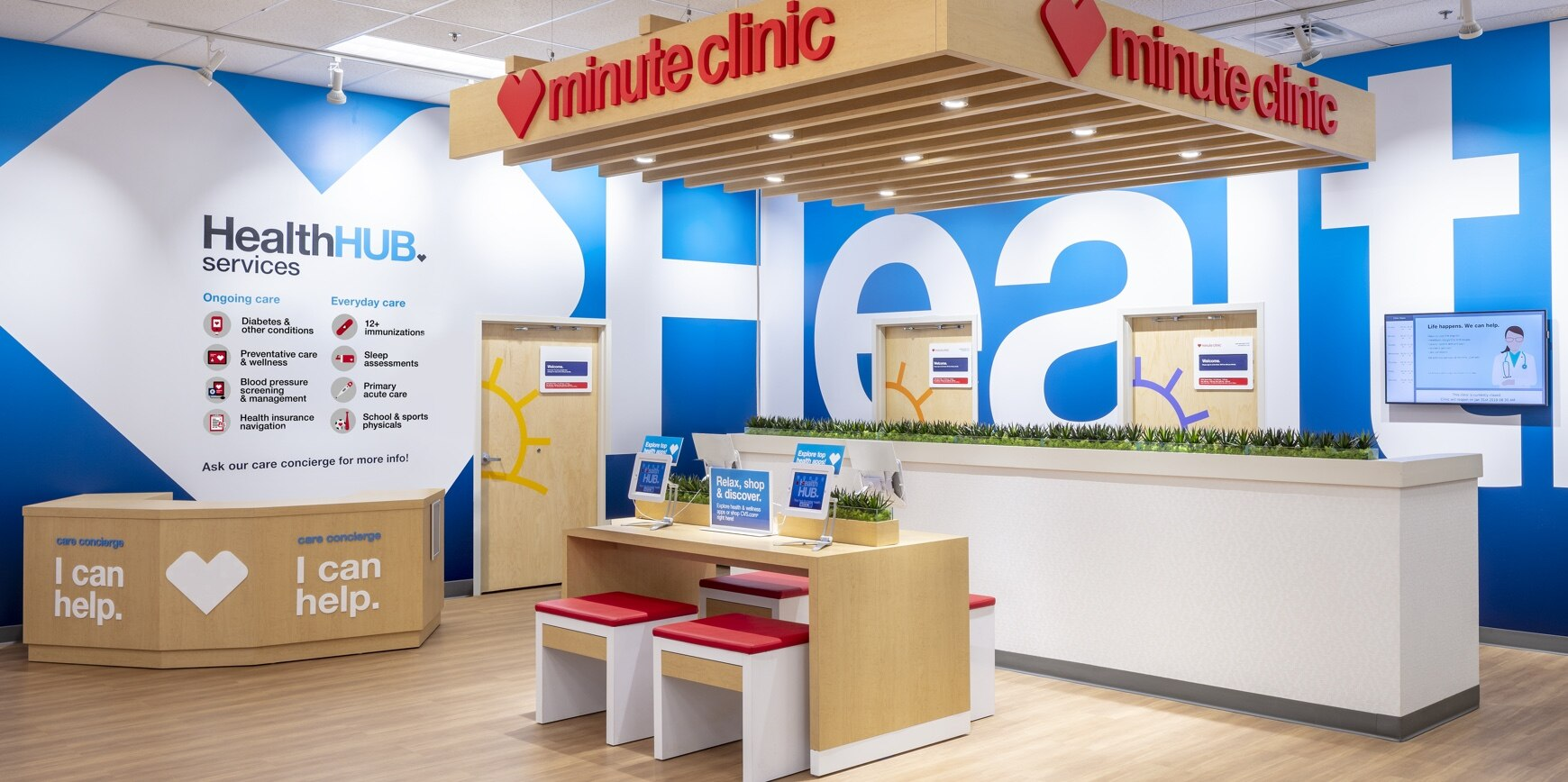 CVS Health Hub Common Area
