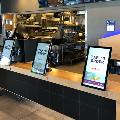 Taco Bell Self-Order Counter