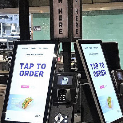 Taco Bell Ordering Kiosks