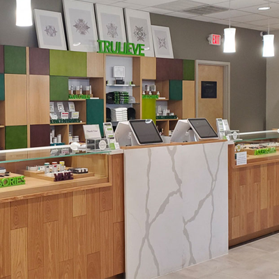 Trulieve Store Counter